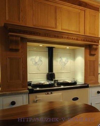 мебель для маленькой кухни из дерева