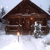 Дом, строительство сруба из сосны