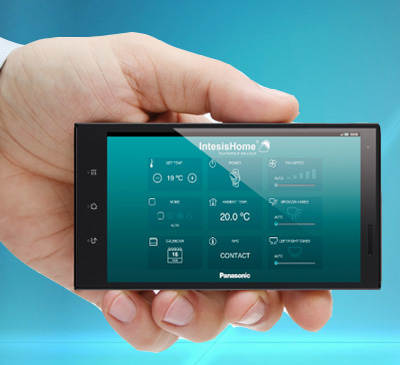 Дистанционное управление кондиционером через телефонс помощью приложения IntesisHome