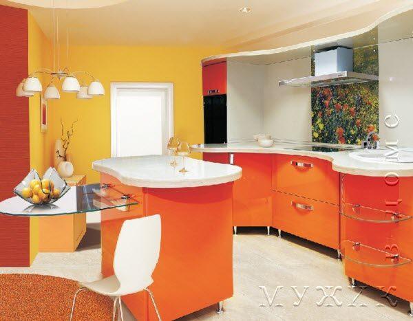 Акриловые кухонные столешницы