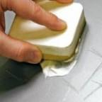 затирка царапины на пластике