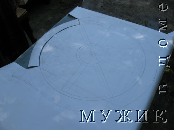 чертеж схема колеса