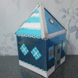 картонный домик своими руками