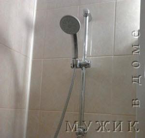 душ на регулируемой стойке