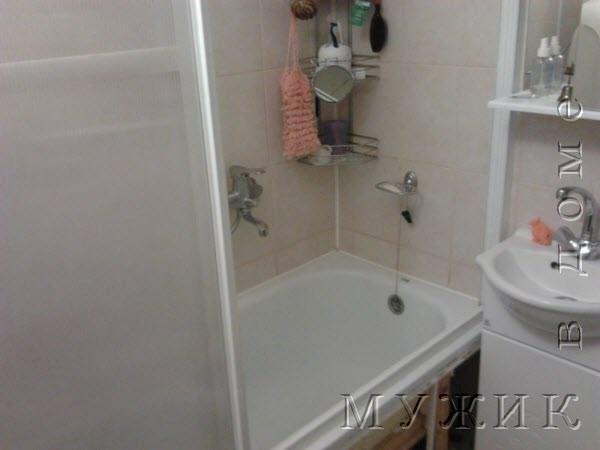 душевая кабинка из обычной ванной