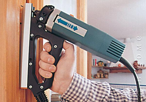 Специальный фрезер Virutex для деревянных окон