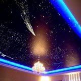 лампочки на натяжной потолок