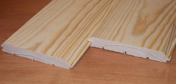 деревянный сайдинг под брус