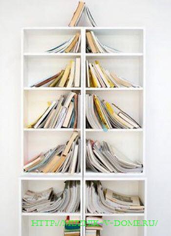Как сделать елку своими руками из книг