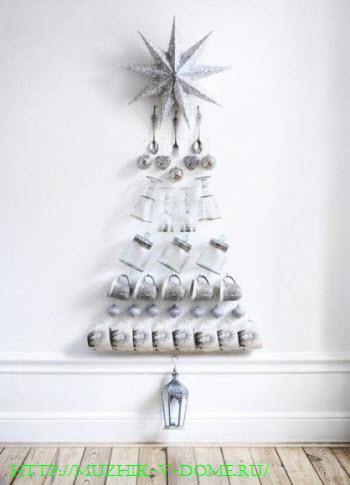 Как сделать новогоднюю елку своими руками из подручных материалов