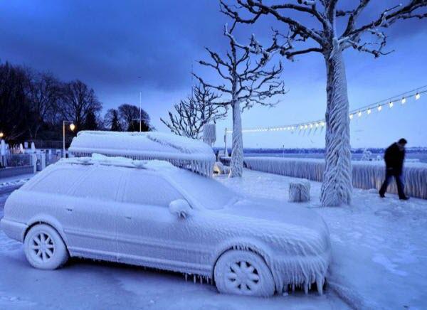 Как завести автомобиль зимой в сильный мороз