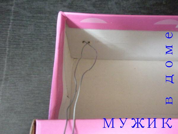 Изготовление кормушки из коробки