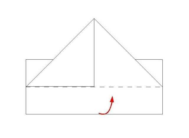 Как сложить бумажный кораблик своими руками