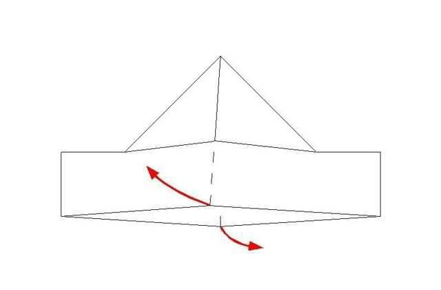 Как сложить из бумаги кораблик