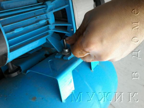 давление в гидроаккумуляторе насосной станции джилекс