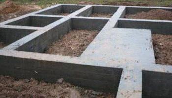 Виды фундаментов для дома. Ленточный монолитный фундамент