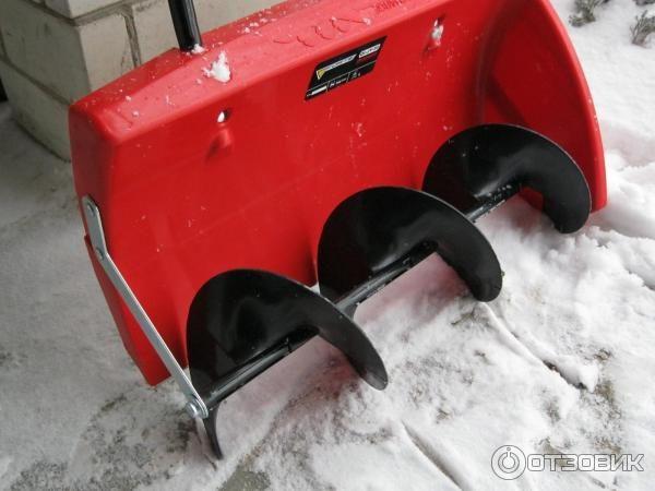 Механическая лопата со шнеком Forte QI-JY-50 для уборки снега