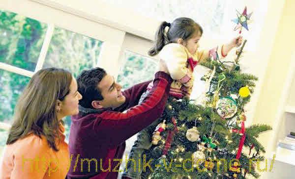 как нарядить елку к новому году