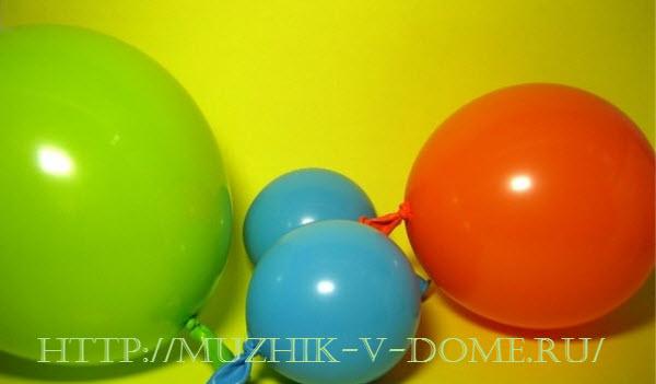 шарики надутые