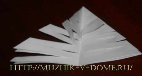 как сделать гирлянду из бумаги