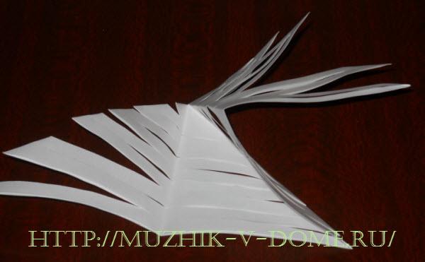 гирлянда на новый год из бумаги своими руками