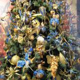 оформление елки на новый год