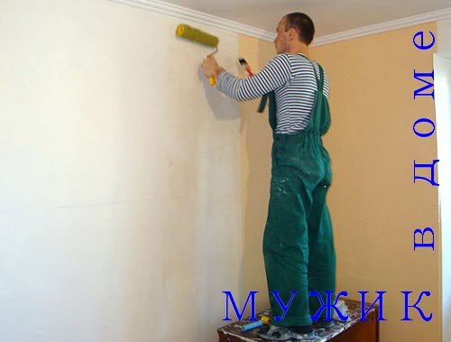 как клеить флизелиновые обои на стену