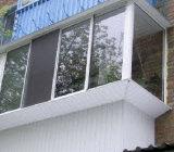 застекленный балкон с выносом