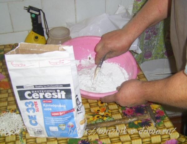 отделка печи плиткой