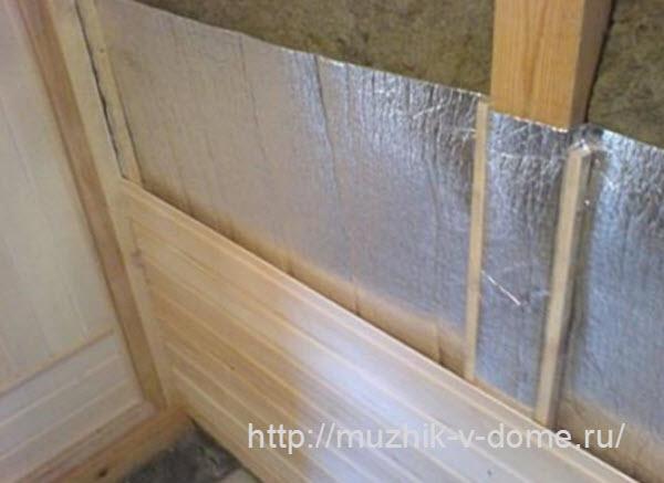 утепление деревянной бани своими руками