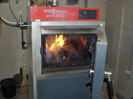 котел пиролизного отопления