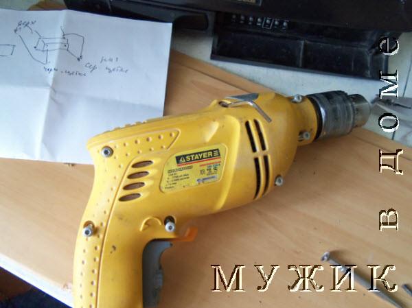 Как отремонтировать ударную дрель своими силами