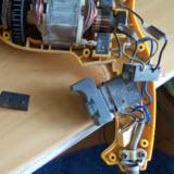 ремонт ударной дрели замена кнопки включения