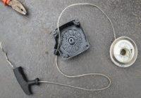 ремонт стартера установка пружины