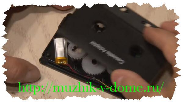 изготовление bluetooth кассеты своими руками