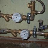 установка водосчетчиков