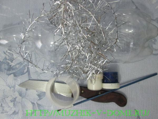материалы для изготовления объемной снежинки