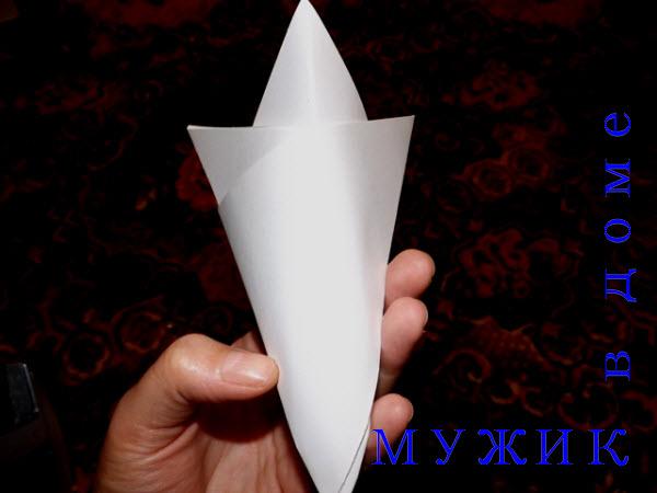 балерины снежинки бумажные своими руками