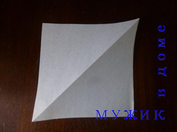 Как делать снежинку оригами из бумаги своими руками