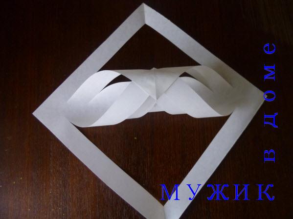 снежинки оригами из бумаги