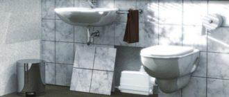 сололифт в ванной под раковиной
