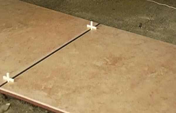 Зазор между плитками при кладке