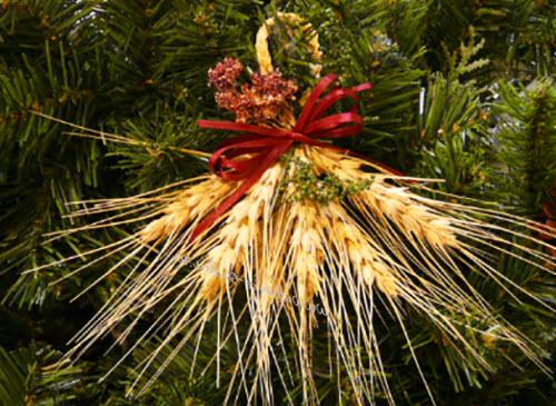 как украсить елку в экостиле новый год