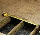 установка деревянного пола в частном доме