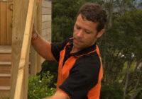 установка столбов деревянных для забора