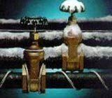 Утепление водопроводных труб своими руками