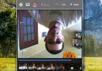 веб камера переворачивает изображение в скайп